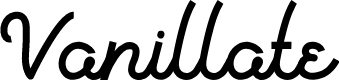 Preview image for Vanillate Font