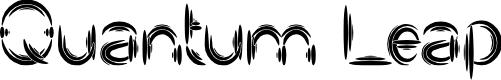 Preview image for Quantum Leap Font