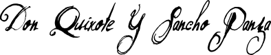 Preview image for DonQuixote Font