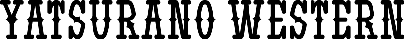 Preview image for Yatsurano Western Font