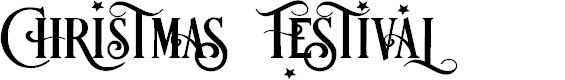 Preview image for Festival Font