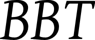 Preview image for BBT-Italic