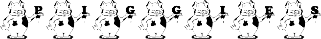 Preview image for KG_PIGGIES Font