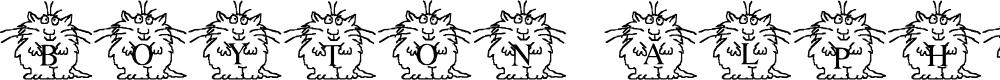 Preview image for LMS Boyton Alphabet