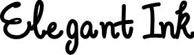 Preview image for Elegant Ink Font