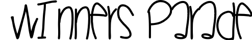 Preview image for WinnersParade Font