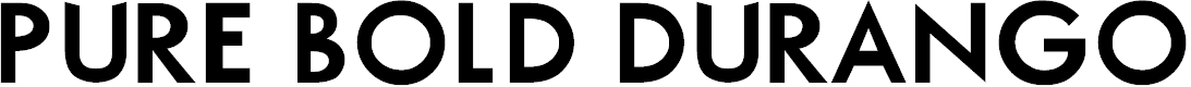 Preview image for Pure Bold DuranGo Font