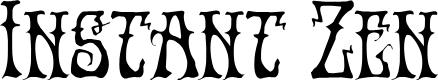 Preview image for Instant Zen Regular Font