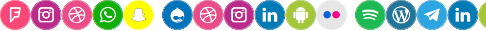 Icons Social Media 10