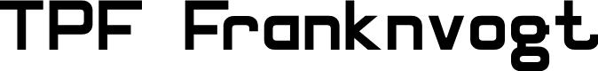 Preview image for TPF Franknvogt Font