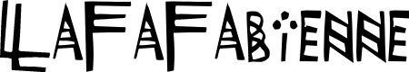 Preview image for LaFaFabienne Font