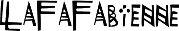 LaFaFabienne font