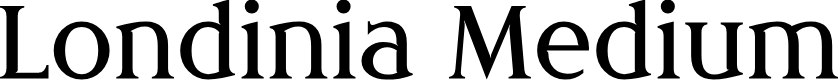 Preview image for Londinia Medium Font