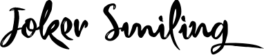 Preview image for Joker Smiling Font