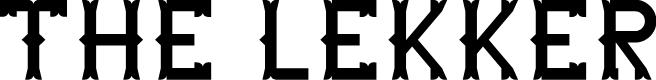 Preview image for The Lekker Font