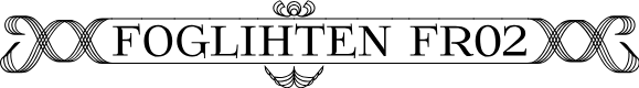 Preview image for Foglihten Fr02 Font