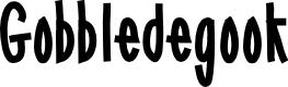 Preview image for Gobbledegook Font