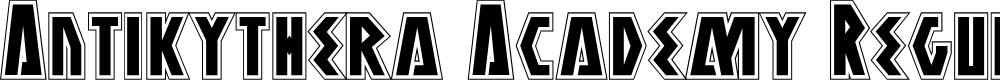 Preview image for Antikythera Academy Regular