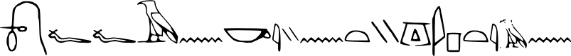 Preview image for Off_Ancient_Egyptian Font
