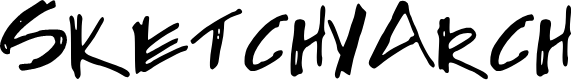 Preview image for SketchyArch Font