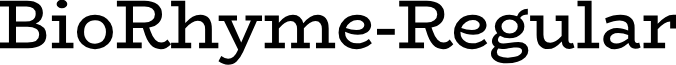 BioRhyme-Regular