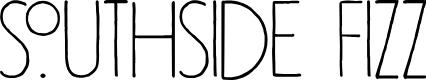 Preview image for DK Southside Fizz Regular Font