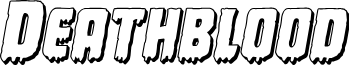 Deathblood 3D Italic