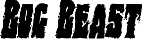 Preview image for Bog Beast Condensed Italic