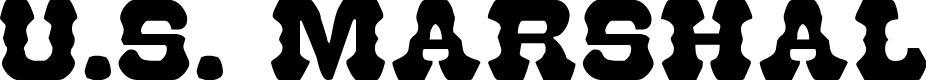 Preview image for U.S. Marshal Regular Font
