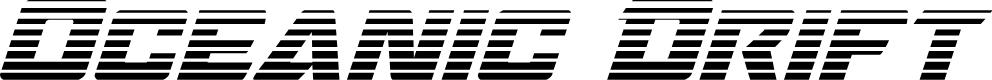 Preview image for Oceanic Drift Gradient Italic