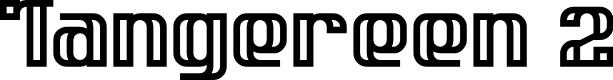 Preview image for Tangereen 2 Regular Font