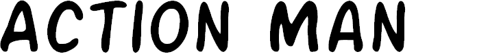 Preview image for Action Man Font