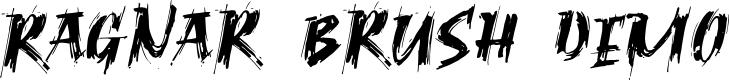 Preview image for Ragnar Brush DEMO Font