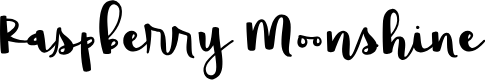 Preview image for Raspberry Moonshine Font