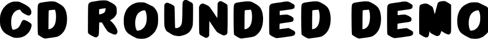 Preview image for C3d Rounded Demo Regular Font