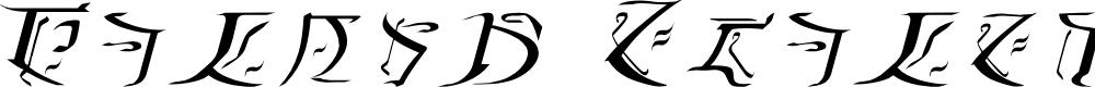 Preview image for Falmer Italic