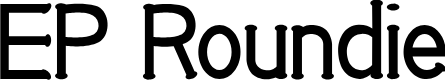 Preview image for EP Roundie Font