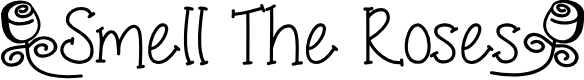 Preview image for SmellTheRoses Font