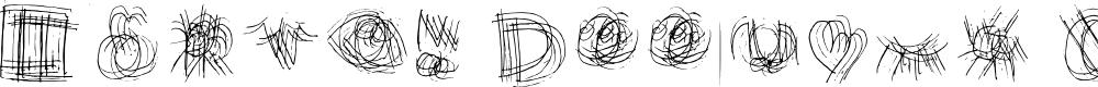 Preview image for Marvin Doodles Regular Font