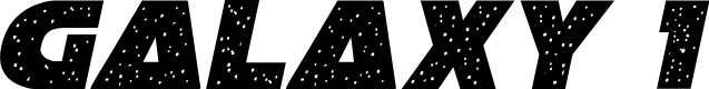Preview image for Galaxy 1 Condensed Italic