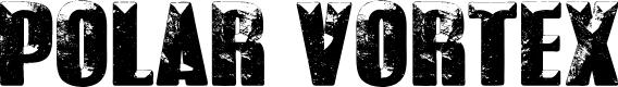 Preview image for POLAR VORTEX Font