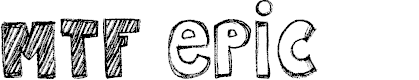 Preview image for MTF Epic Font