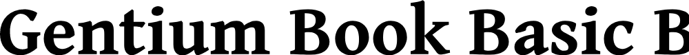 Preview image for Gentium Book Basic Bold