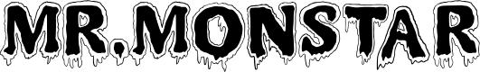 Preview image for MR.MONSTAR Font