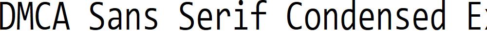 DMCA Sans Serif Condensed Extralight