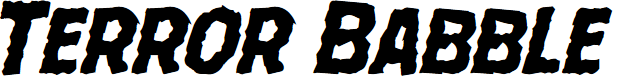 Preview image for Terror Babble Mangled Italic