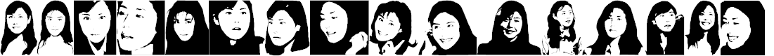Preview image for Nanako Version2000 Font
