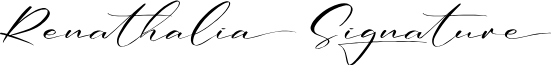 Renathalia Signature