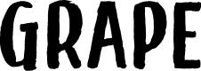 Preview image for Grape Demo Regular Font