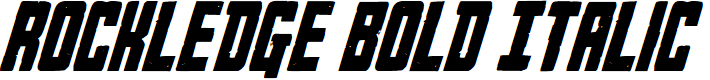 Preview image for Rockledge Bold Italic